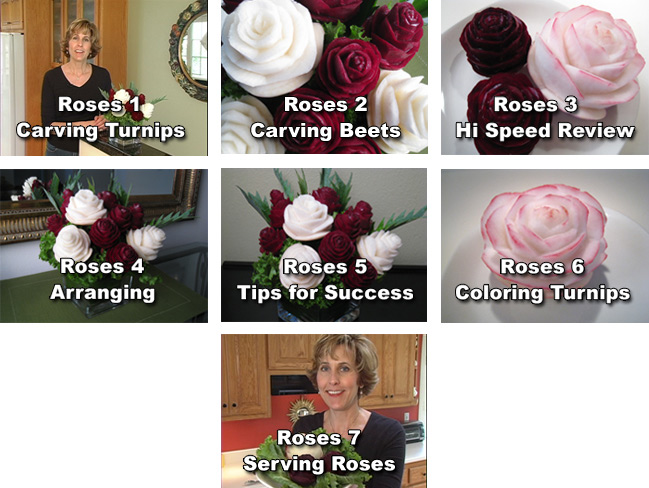 Roses Lesson Chapters in Hearts and Roses