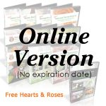101 Course Plus Free Hearts and Roses Online only version