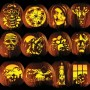 Pumpkin Carving Patterns - Classic Halloween patterns that are a little more challenging than the Family Pack