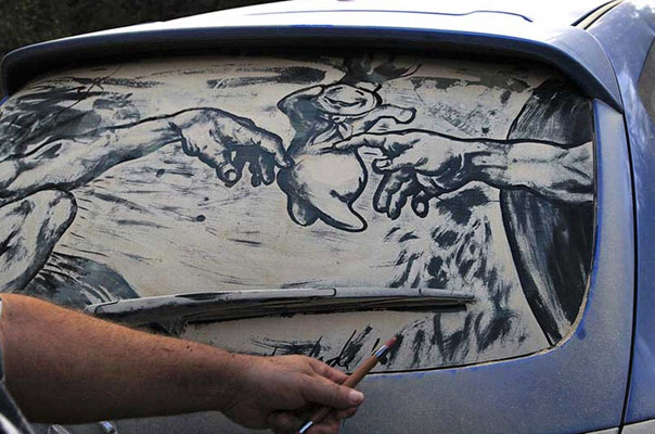 Dirty Car Art Doughboy Michaelangelo