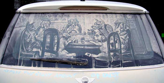 Friends in Need Car Art