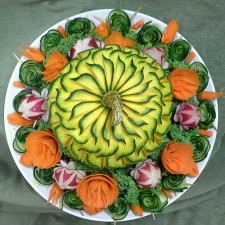 Kabocha Squash carved by Rose Flores