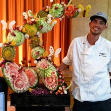 Titus Arensburg - winner of Pro division at last year's Ohio State Fair Food Art Competition