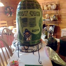 Cindy Rozich's 4th of July Watermelon keg