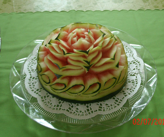 Another variation of watermelon Cake by Rosita