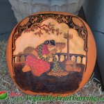 Devotee pumpkin carving