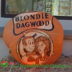 Blondie Dagwood pumpkin