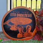 Star Trek pumpkin