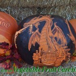 Sleeping Beauty Maleficent pumpkin carving