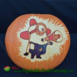 Despicable Me Minion Halloween pumpkin