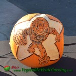 Buzz Lightyear pumpkin carving