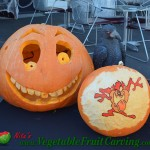 Tasmanian Devil pumpkin carving