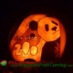 San Diego Zoo pumpkin carving