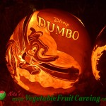 Dumbo Halloween pumpkin