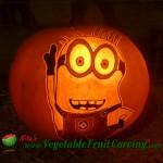 Despicable Me Minion pumpkin