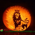 Lion King pumpkin carving