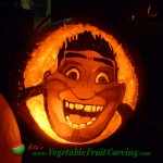 Croods Halloween pumpkin carving