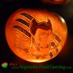 Despicable Me pumpkin carving