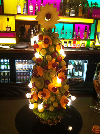 Fruit Christmas tree by Sharleen