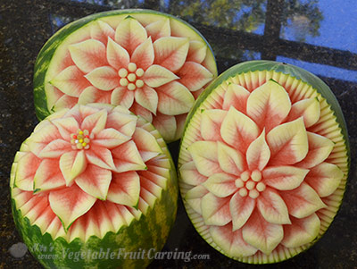 poinsesttia watermelons