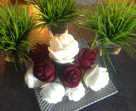 Abiodun's first beet and turnip roses