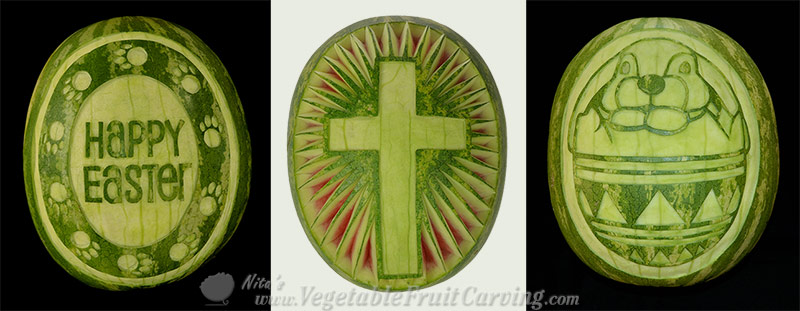 Easter Fruit Carving Patterns
