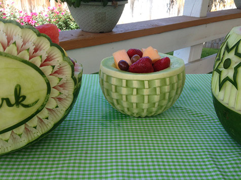 honeydew basket on Hallmark's Home and Family show