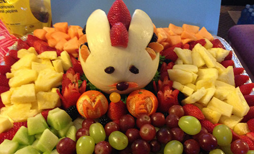 Easter food decorations to brighten your table