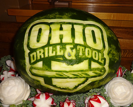 ohio-tool-drill-watermelon-carving