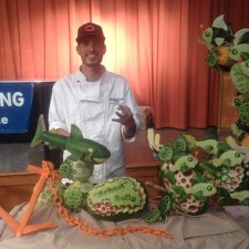 Titus Arensberg with 1st place entry at Ohio State Fair.