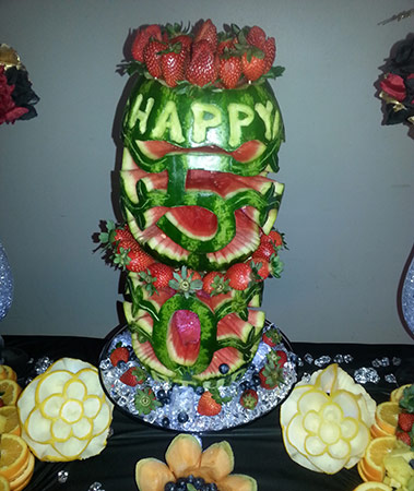 cake from watermelon Kentrina
