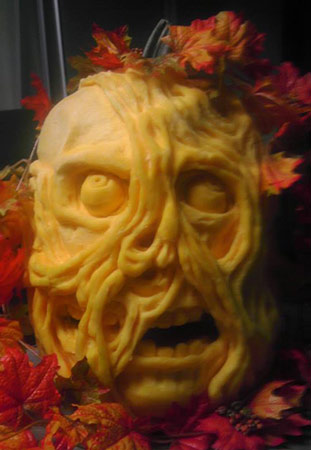 Jon Michaels entry from the 2013 pumpkin carving competition.