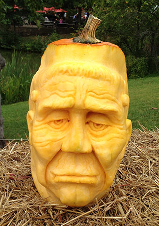 3d Pumpkin Faces Nita S Fruit And Vegetable Carving Videos