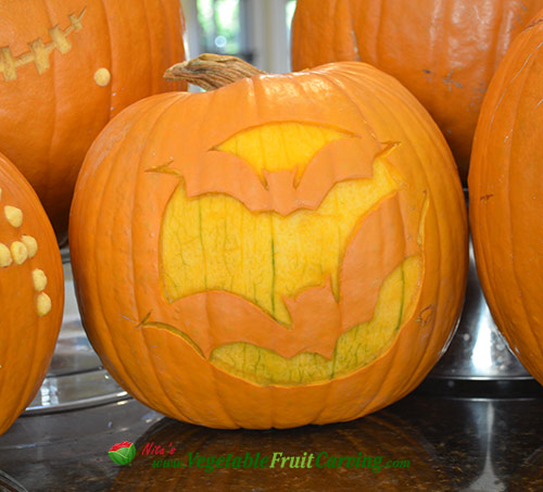 Pumpkin carvings easy enough for year old nita s fruit