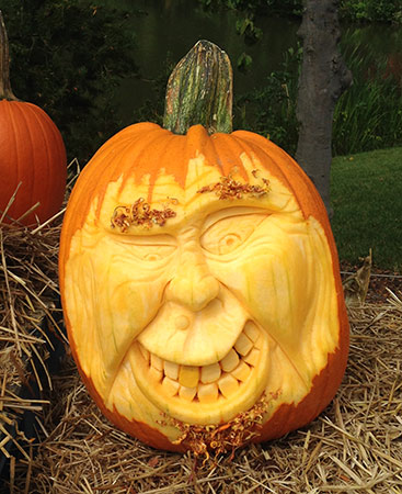 another on Doug Ghantz' pumpkin faces