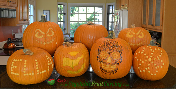pumpkin carvings easy for Halloween