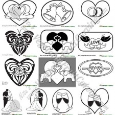 Wedding Carving Patterns pumpkins watermelons