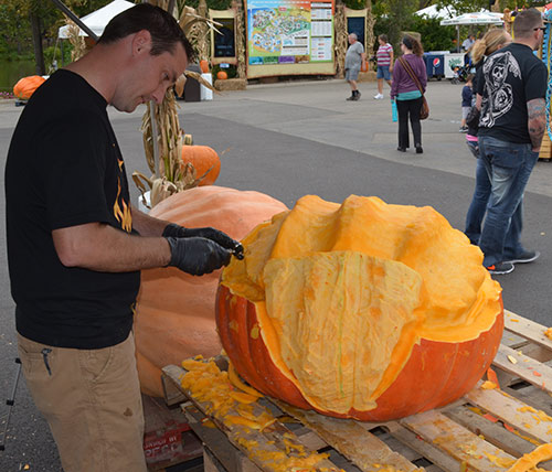 3D pumpkin carving masters competition shannon