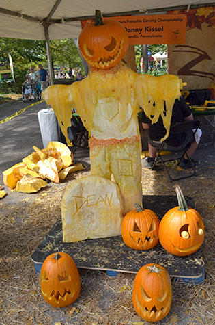 pumpkin scarecrow by Danny Kissel