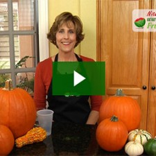 Nita Gill shows how to make a pumpkin vase