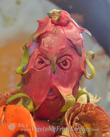 fruit carving davy jones passion fruit