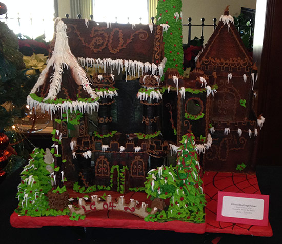 Honey Bee gingerbread castle