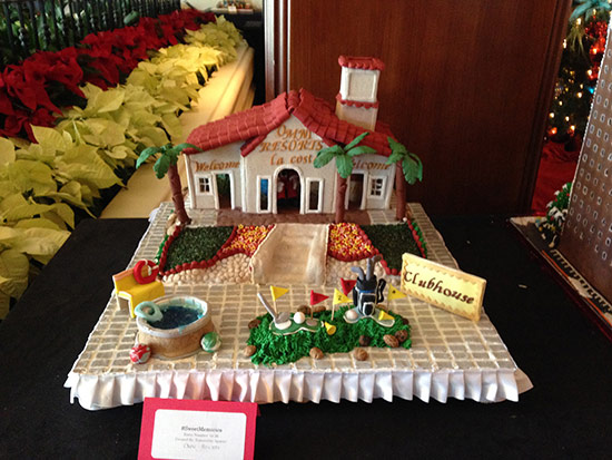 gingerbread-houses - La Costa Resort Golf Theme