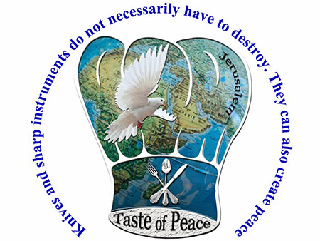 Taste of Peace chef's association logo