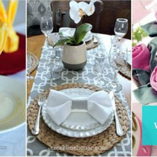 napkin folding on Country Living