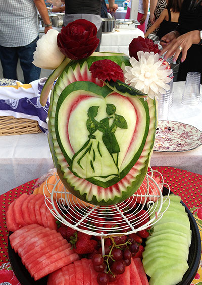 Wedding centerpiece ideas nita s fruit vegetable