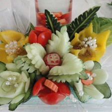wedding vegetable bouquet