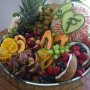 Hannah Perryman's wedding fruit display