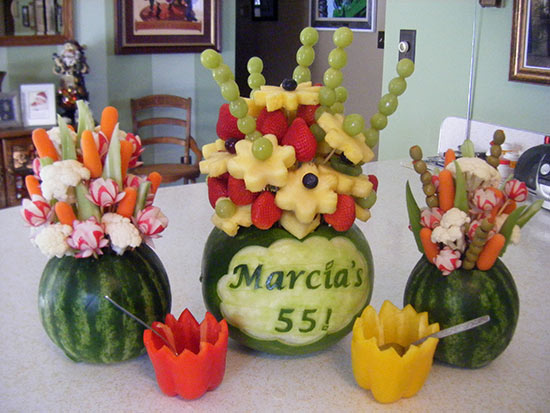 birthday fruit bouquets