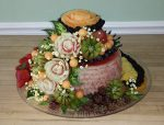 Fancy watermelon birthday cake